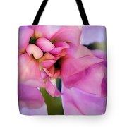 Flower At Twilight Tote Bag