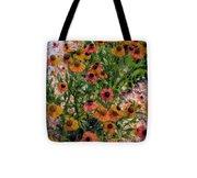 Flower Ballet Tote Bag