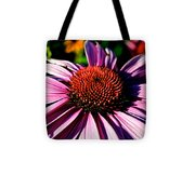 Flower Bed Close Up Tote Bag