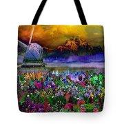 Flower Bliss Tote Bag
