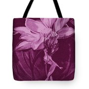 Flower Bomb One Reticulation Tote Bag