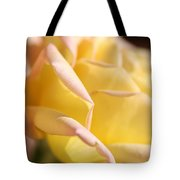 Flower-bright Yellow-rose With Pink Tote Bag