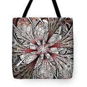 Flower Carving Tote Bag