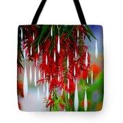Flower Chandelier Tote Bag