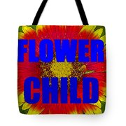 Flower Child Phone Case Work Tote Bag