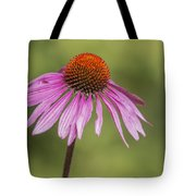 Flower Close Up At Michigan State University Tote Bag