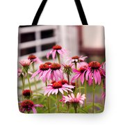 Flower - Cone Flower - In An English Garden  Tote Bag
