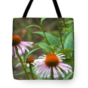 Flower - Cone Flower- Luther Fine Art Tote Bag