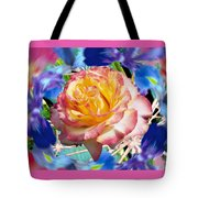 Flower Dance 2 Tote Bag