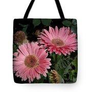 Flower Duvet Cover Tote Bag