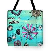 Flower Fever Tote Bag