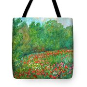 Flower Field Tote Bag
