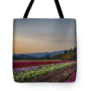 Flower Fields 2 Cropped Into A Standard Ratio Tote Bag