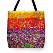 Flower Fields Tote Bag