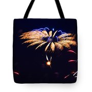 Flower Fireworks Tote Bag