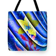 Flower Flux Tote Bag