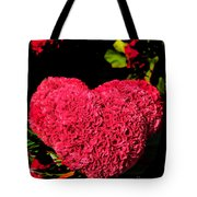 Flower For The Heart Tote Bag
