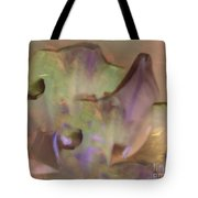 Flower Garden Abstract Tote Bag