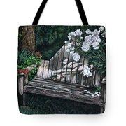 Flower Garden Seat Tote Bag