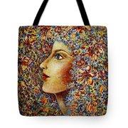 Flower Goddess. Tote Bag