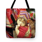 Flower Hmong Baby 01 Tote Bag