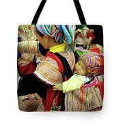 Flower Hmong Baby 03 Tote Bag