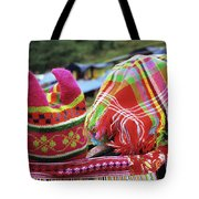 Flower Hmong Baby 05 Tote Bag