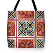 Flower Hmong Embroidery 01 Tote Bag