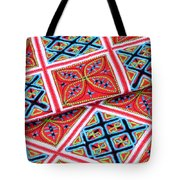 Flower Hmong Embroidery 02 Tote Bag