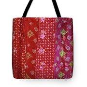 Flower Hmong Velvet Tote Bag