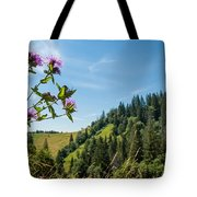 Flower In The Carpathians Tote Bag