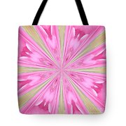 Flower Kaleidoscope Tote Bag