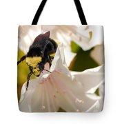 Flower King Tote Bag