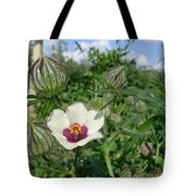 Flower Of An Hour Tote Bag