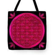Flower Of Life - Pink Tote Bag