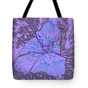 Flower Of Purple Tote Bag