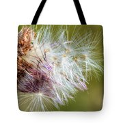 Flower Of The Canada Thistle Tote Bag