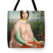 Flower Of The Fields Tote Bag
