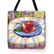 Flower On Chair Tote Bag