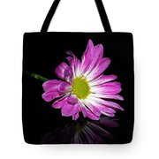 Flower On Glass Tote Bag