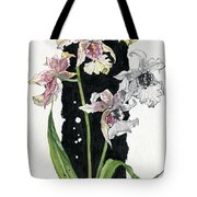 Flower Orchid 06 Elena Yakubovich Tote Bag by Elena Yakubovich