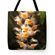 Flower - Orchid - Dendrobium Orchid Tote Bag
