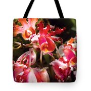 Flower - Orchid - Oncidium Orchid - Eye Candy Tote Bag