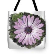 Flower Paint Tote Bag