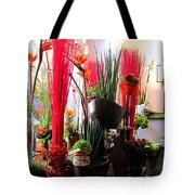 Flower Paradise Tote Bag