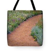 Flower Path Tote Bag