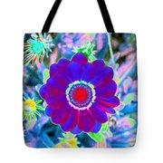 Flower Power 1458 Tote Bag