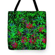 Flower Power Deluxe Tote Bag
