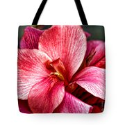 Flower Power In Pink By Diana Sainz Tote Bag
