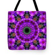 Flower Power Tote Bag by Kristie  Bonnewell